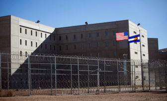 This now-vacant, $200 million prison in Canon City, Colorado was opened in 2010 exclusively to house prisoners in solitary confinement. (Photo by Jen Friedberg/Wisconsin Watch)