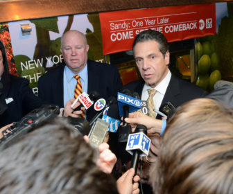 NY Gov. Andew Cuomo. Photo by Metropolitan Transportation Authority via Flickr