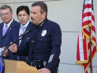LAPD Chief Charlie Beck. Photo by Neon Tommie