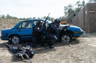 "Honduran ""Tigres"" in training. Photo courtesy USASOC news service via Flickr"