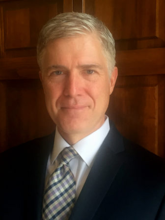 Neil Gorsuch. Photo courtesy Wikipedia