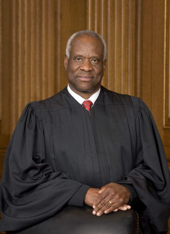 Justice Clarence Thomas by Cknight70 via Flickr