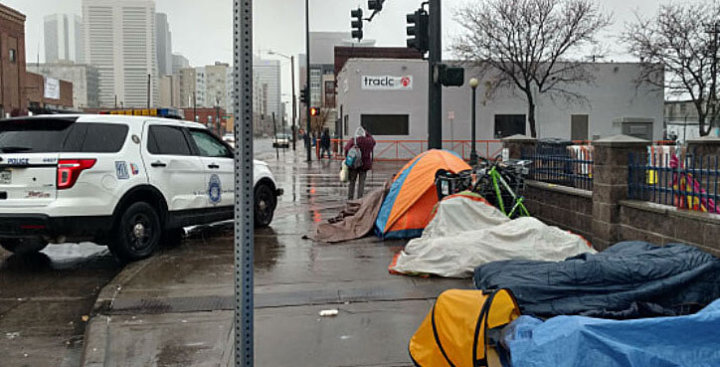Anti-Homeless Laws 'Criminalize' Poverty, says Colorado