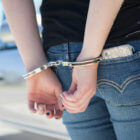 handcuffed girl
