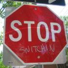 snitchin
